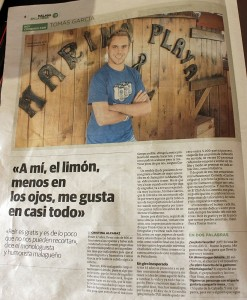 Malaga en la Mesa Tomas Garcia Chiringuito